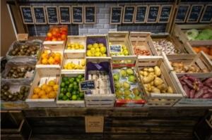 Ouverture de la première épicerie nousantigaspi, à Paris, en novembre 2018 © Maxppp / Aurélien Morissard / IP3 PRESS/MAXPPP